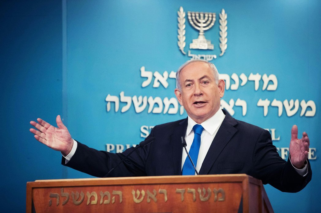 「為了展示誠意,以色列同意暫時停止約旦河西岸的併吞計畫。」以色列總理納坦雅胡表示...