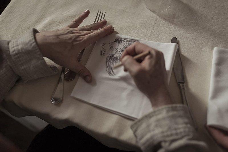 《隱藏的畫家》劇照。 圖/IMDb