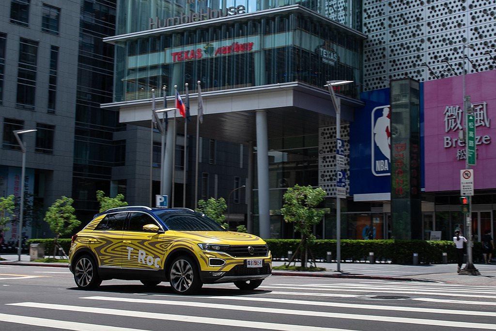 台灣福斯汽車預告9月即將展開首波T-Roc預售作業。 圖/Volkswagen ...
