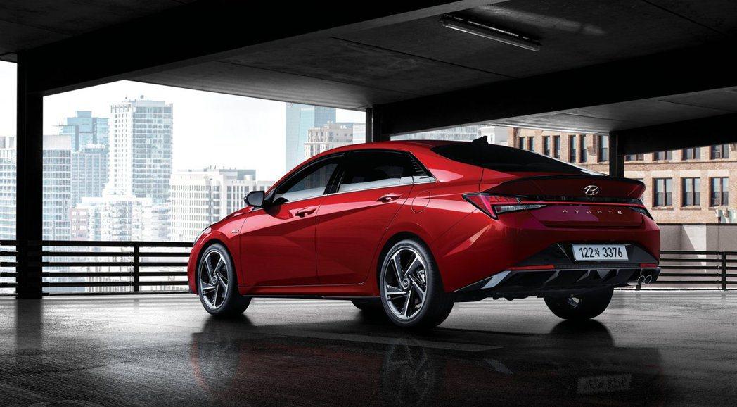 全新Hyundai Elantra/Avante N Line日前於韓國正式亮相...
