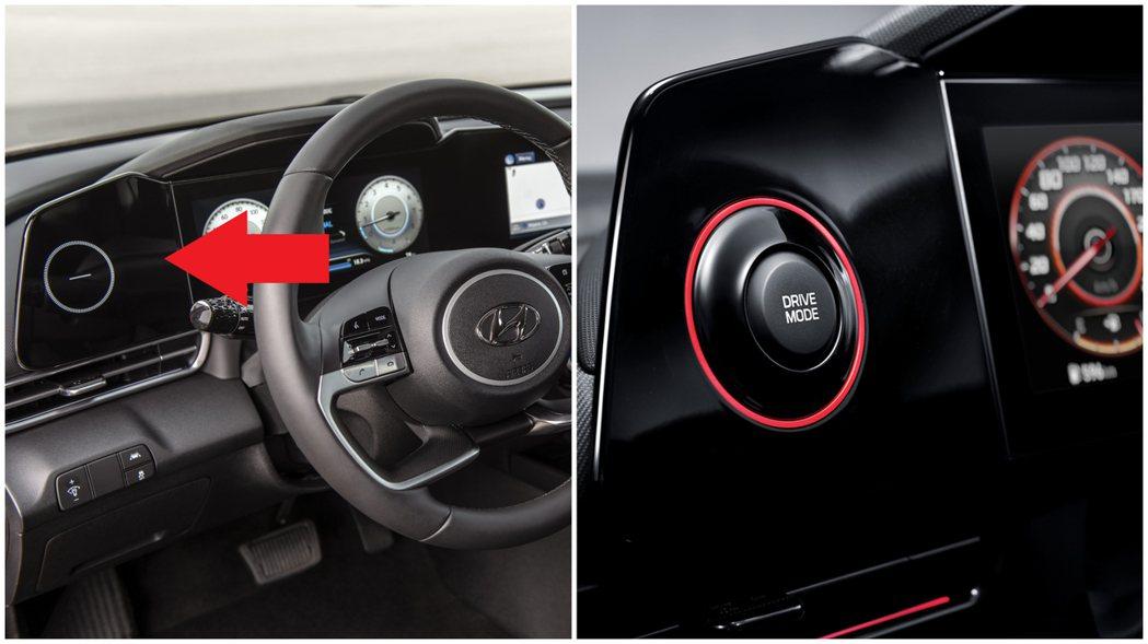 新世代Hyundai Elantra/Avante儀表左側的小螢幕功能,在N L...