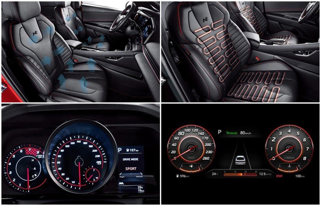 全新Hyundai Elantra/Avante N Line高階車型配備10....