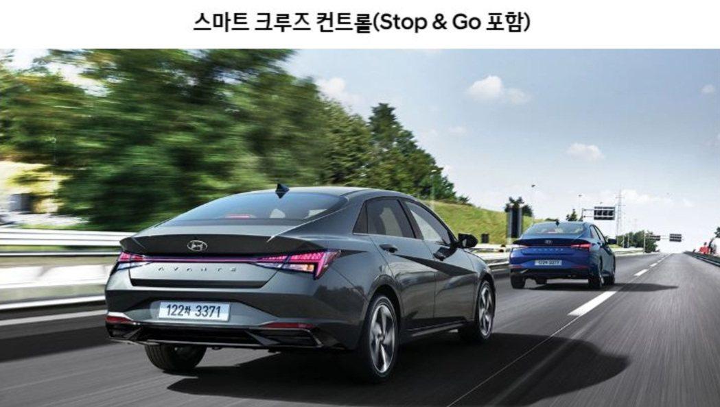韓版Hyundai Elantra/Avante N Line高階車款配備中,出...