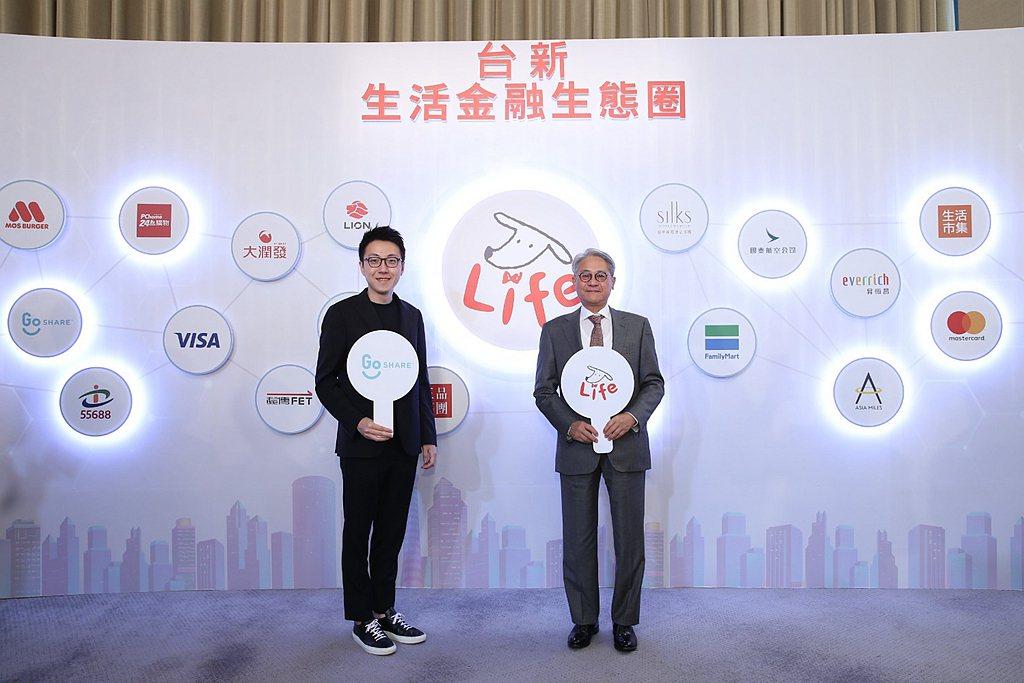 台新銀行逾700萬客戶將享受到多重GoShare專屬優惠,消費滿額即獲最高價值1...