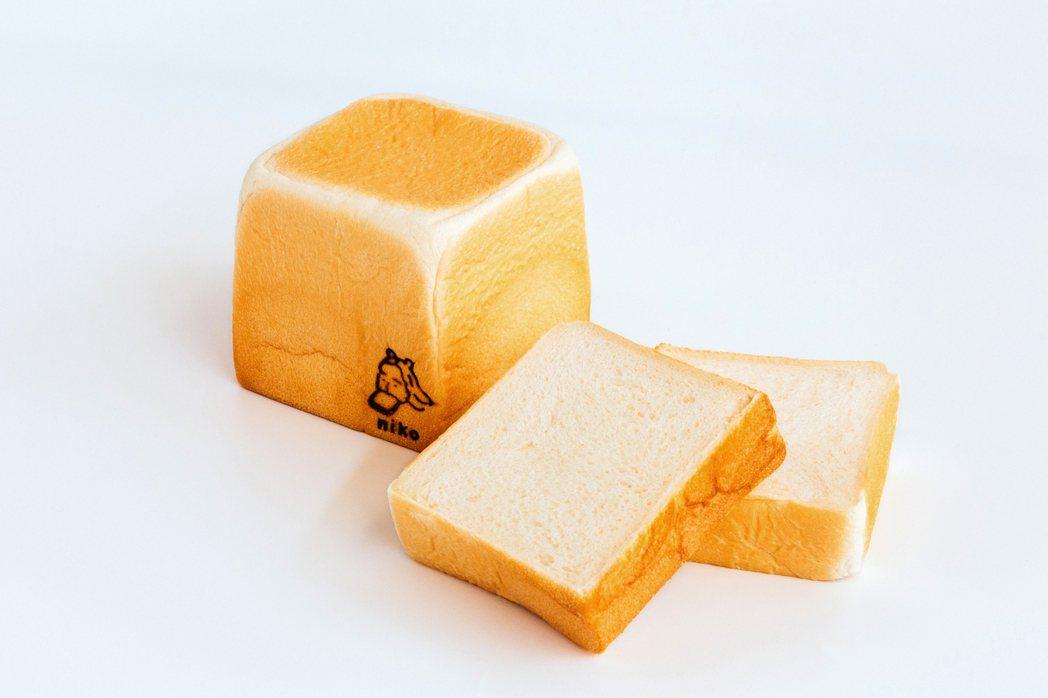 「genki元氣」美肌生吐司。 圖/niko bakery日香提供