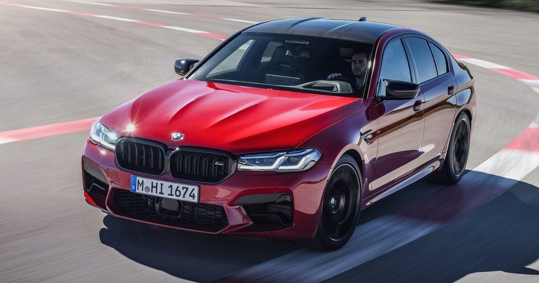 圖為小改款BMW F90 M5。 摘自BMW