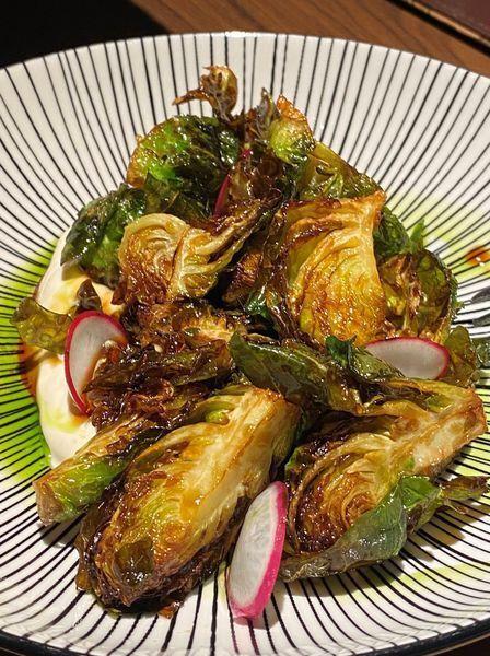 孢子甘藍佐豆腐松露優格醬(NT.280)