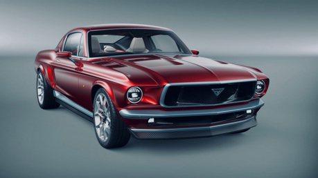 經典Ford Mustang野馬外觀下竟是一輛Tesla!