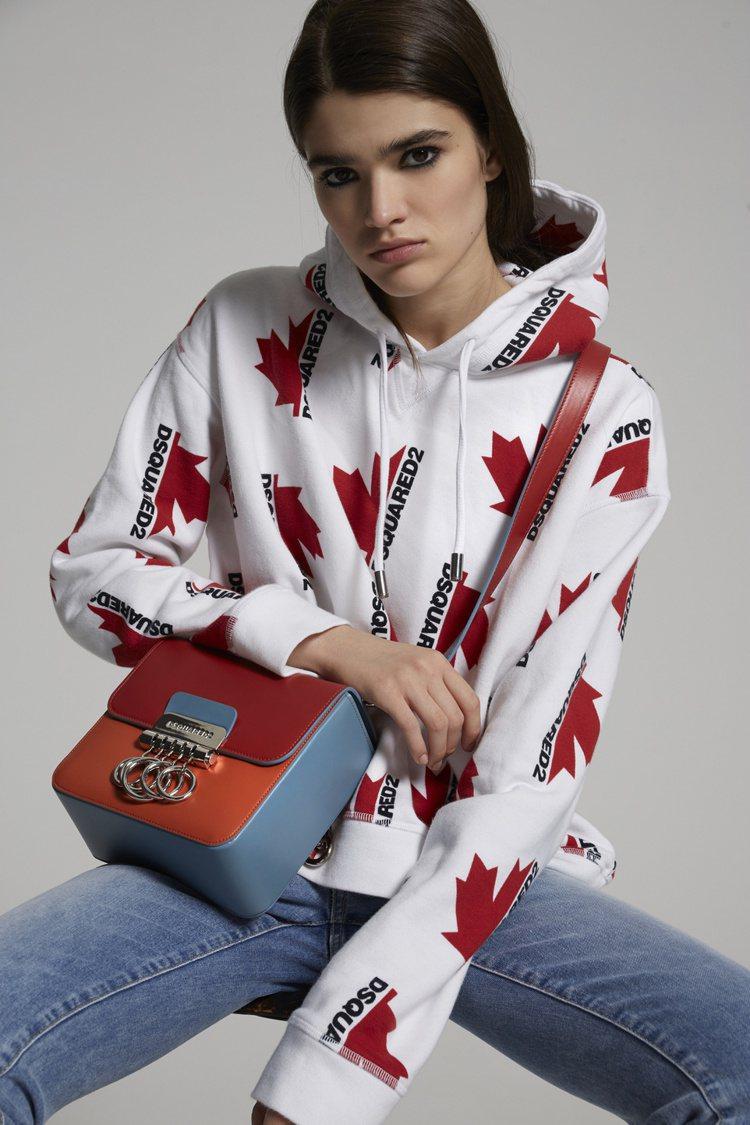 DSQUARED2的2020年秋冬Key Bag,特價490歐元、約台幣17,2...