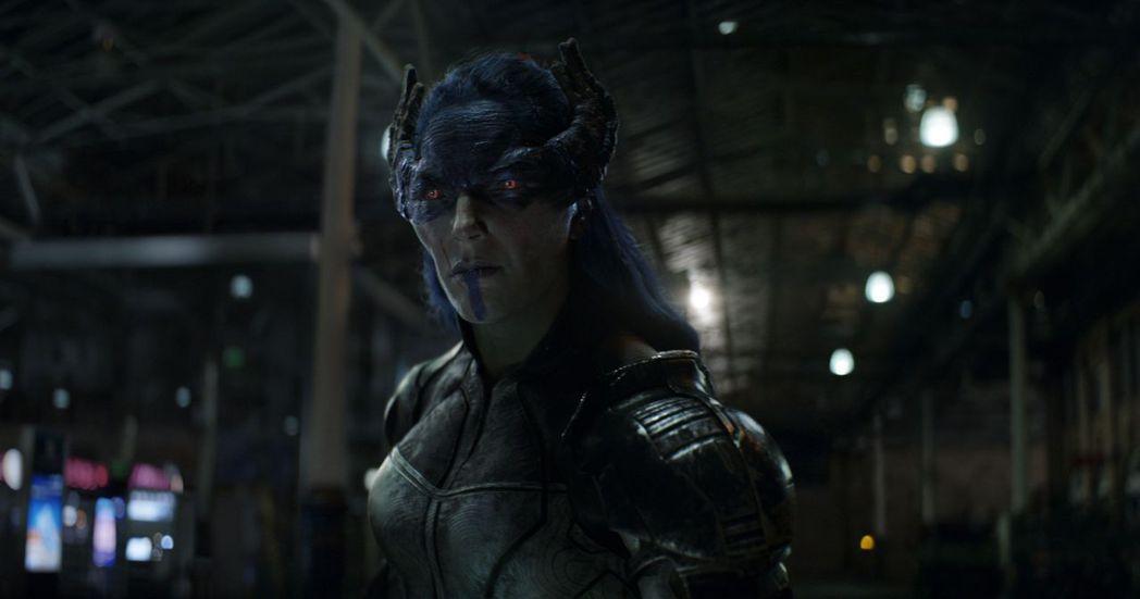 「暗夜比鄰星」僅在「復仇者4」裡面有簡短畫面。圖/摘自推特
