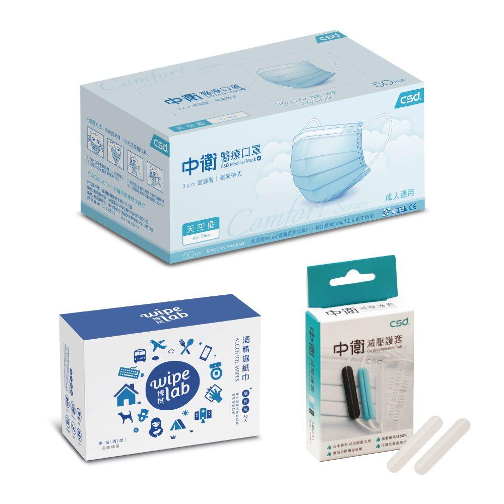 PChome 24h購物宣布將於8月15日晚上7點限量開賣中衛醫療口罩-天空藍5...
