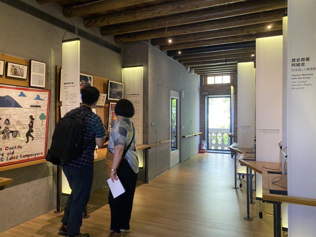 台灣第一座慰安婦博物館「阿嬤家-和平與女性人權館」將於11月10日熄燈。記者葉冠...