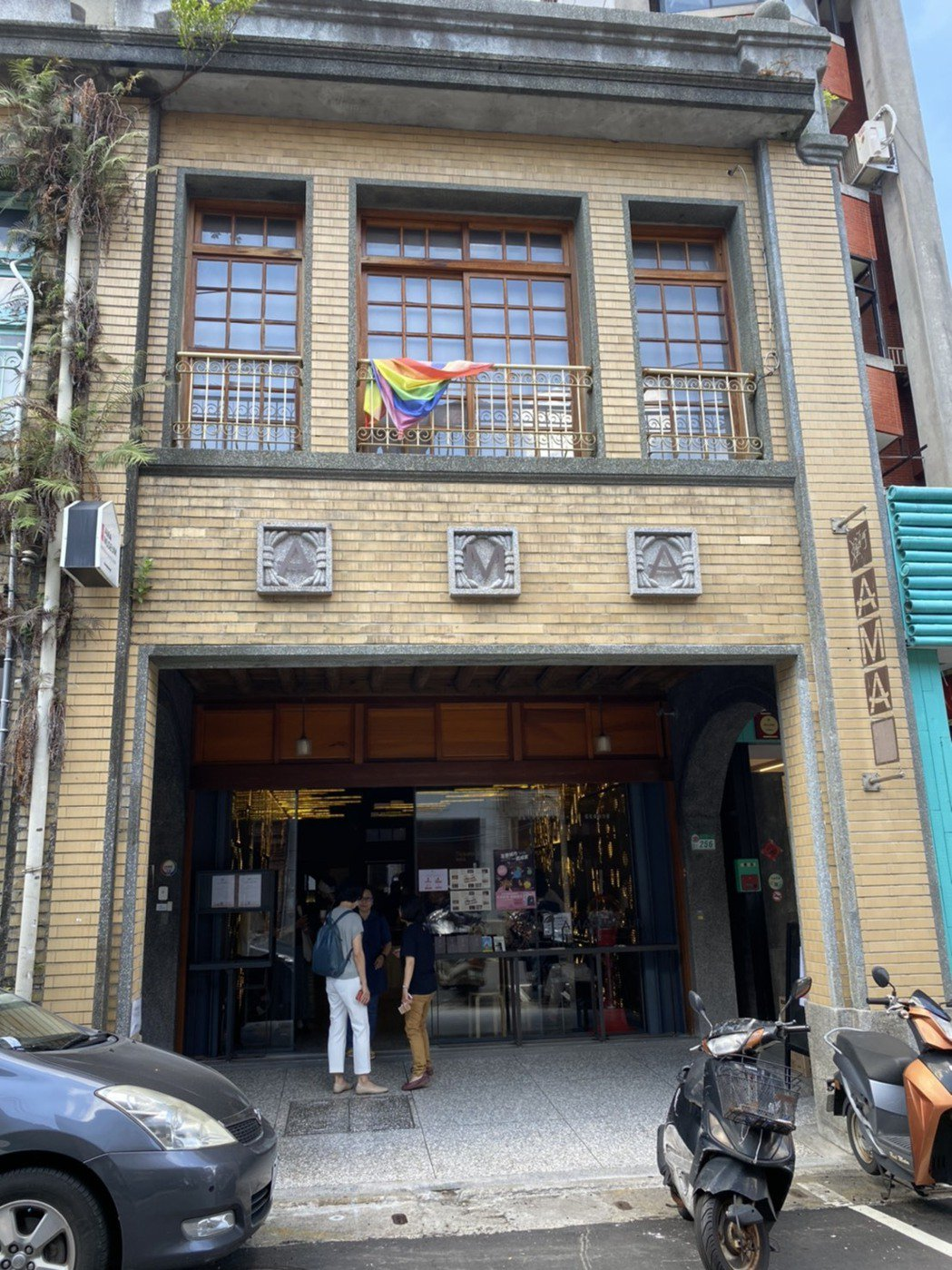 台灣第一座慰安婦博物館「阿嬤家-和平與女性人權館」坐落於台北市迪化街上,將於11...