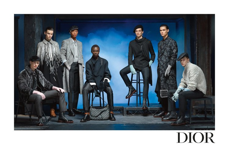 DIOR發表2020冬季男裝系列形象照。圖/DIOR提供