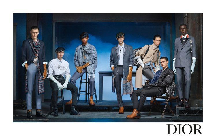 DIOR發表由攝影師Steven Meisel掌鏡的2020冬季男裝系列形象照。...