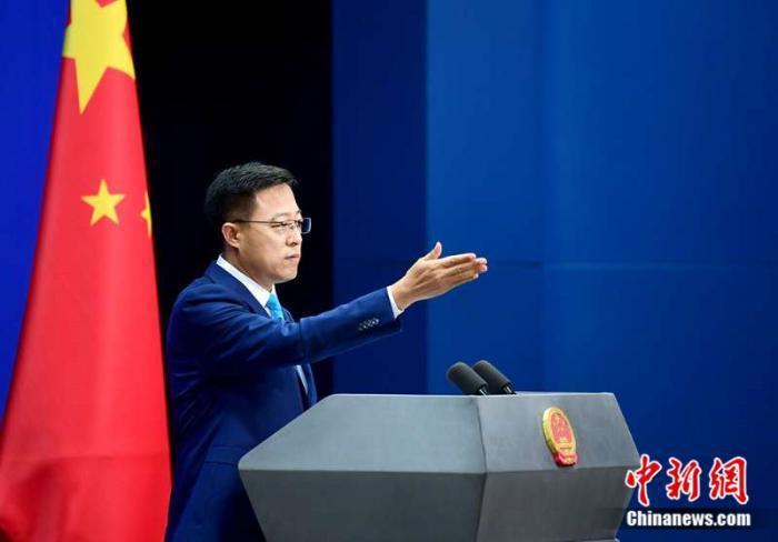 大陸外交部發言人趙立堅。圖/取自中新網