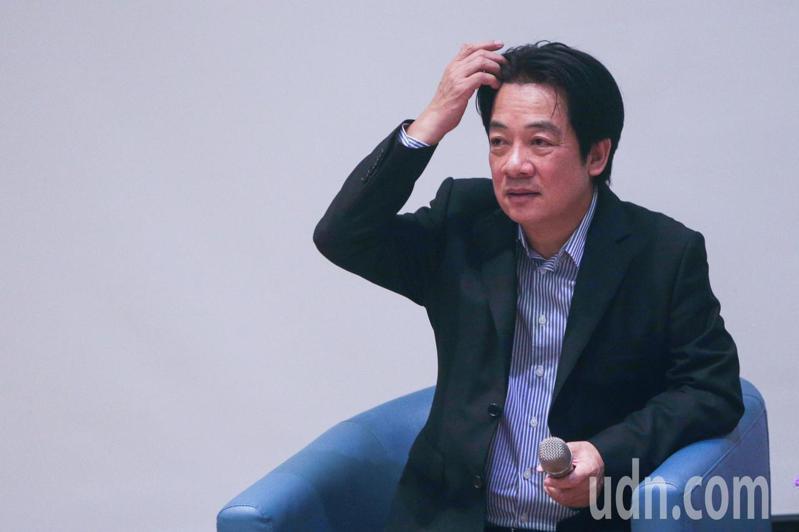 副總統賴清德。聯合報系資料照/記者黃仲裕攝影