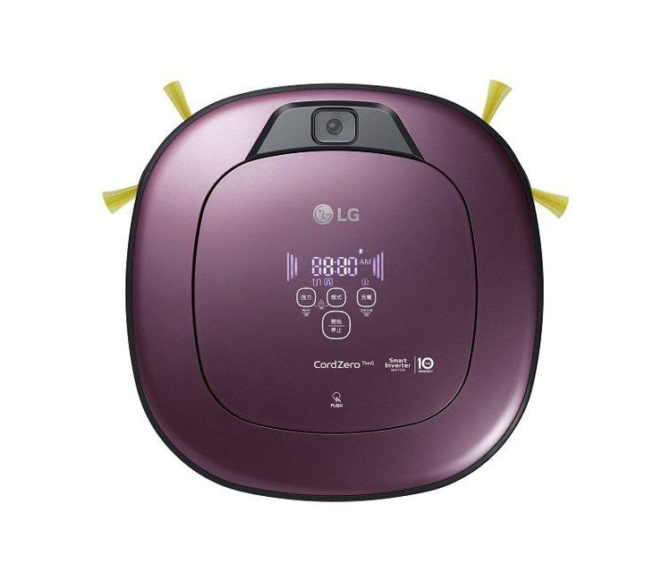 LG CordZero 變頻清潔機器人-雙眼濕拖版迷幻紫新色,售價22,900元...
