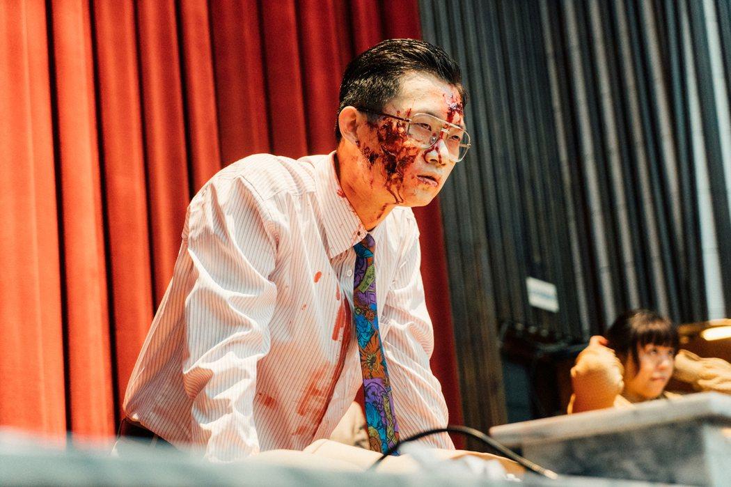 視網膜客串「逃出立法院」。圖/華映提供