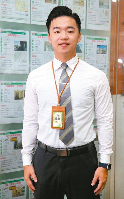 信義房屋世貿莊敬店主任陳展浩。記者曾學仁/攝影