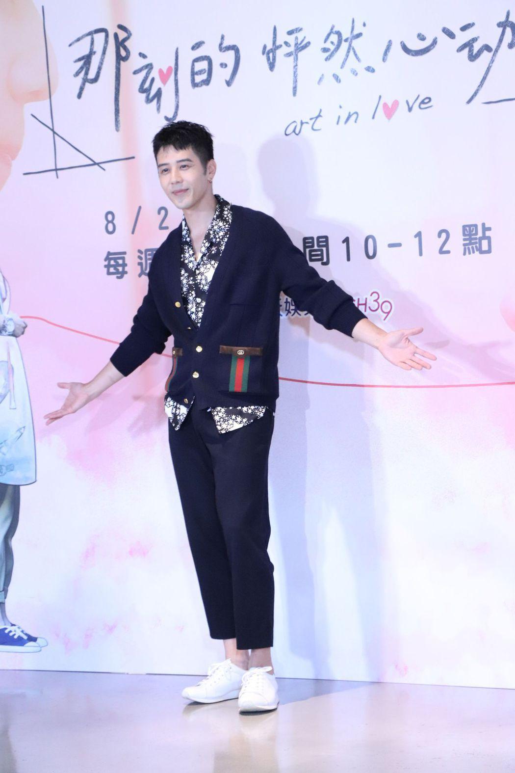 胡宇威自認今年是歸零年。圖/中天娛樂台提供