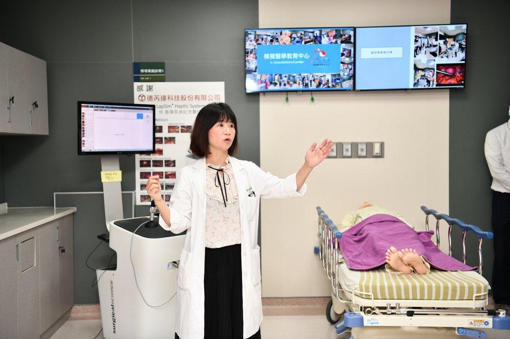 醫師的黃金搖籃,基隆長庚醫院模擬醫學教育中心啟用。圖/基隆長庚提供