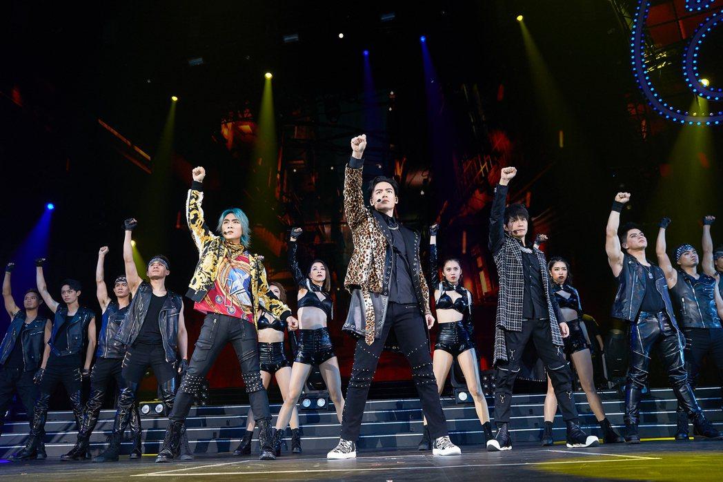 5566將於22日登高雄巨蛋開唱。圖/華貴娛樂提供