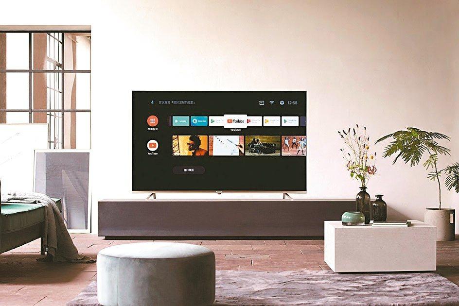 Panasonic智慧電視。台灣松下/提供