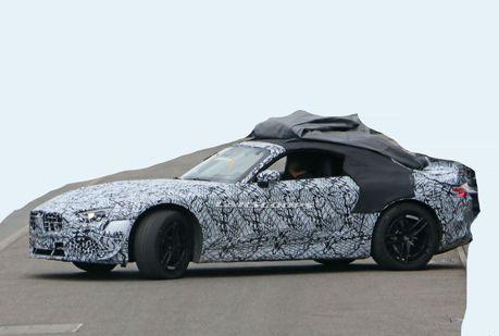 2022 Mercedes-Benz SL-Class全車完整曝光 僅有AMG車型設定?