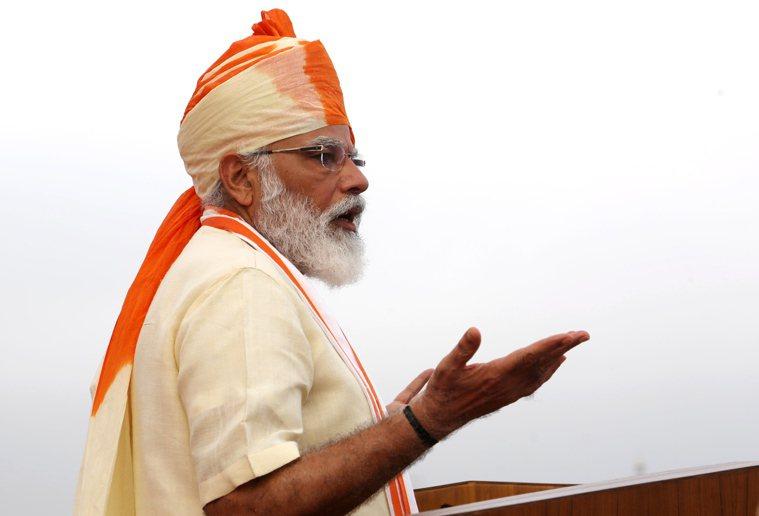 印度總理莫迪。 歐新社