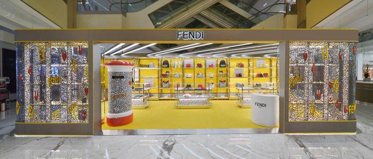 FENDI於北京開設FENDI x Mr. Doodle聯名系列七夕限定快閃店。...