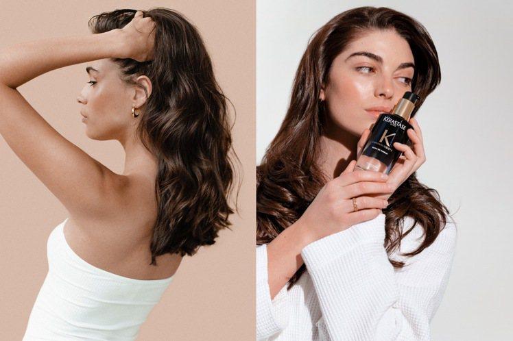 頭髮與頭皮該怎麼辨別老化呢?圖/KERASTASE巴黎卡詩提供