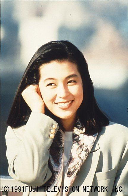 日女星鈴木保奈美29年前演出「東京愛情故事」模樣。圖/八大提供