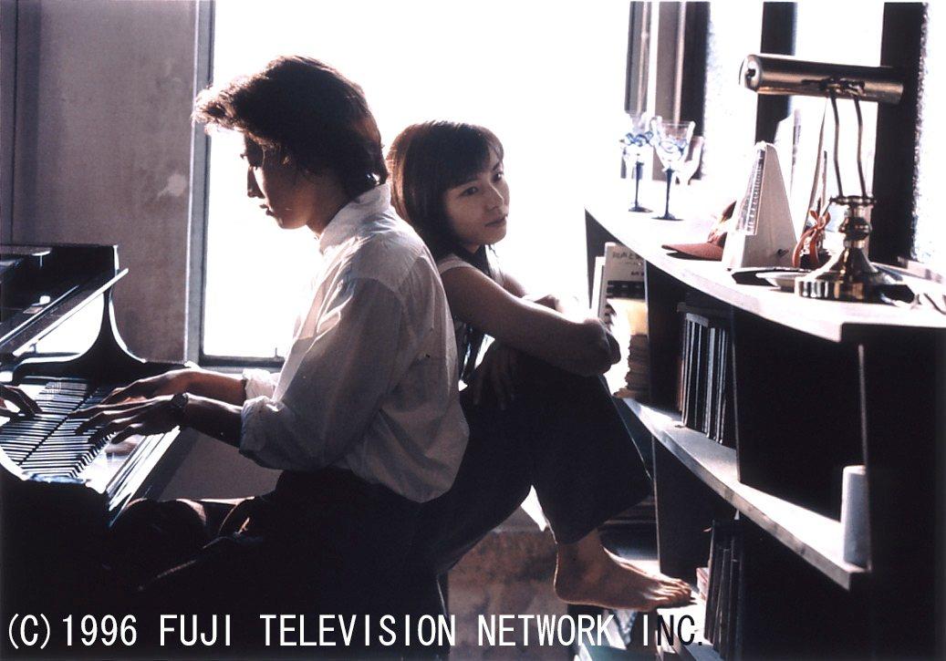 木村拓哉(左)、山口智子主演的經典日劇「長假」,令觀眾回味無窮。圖/八大提供
