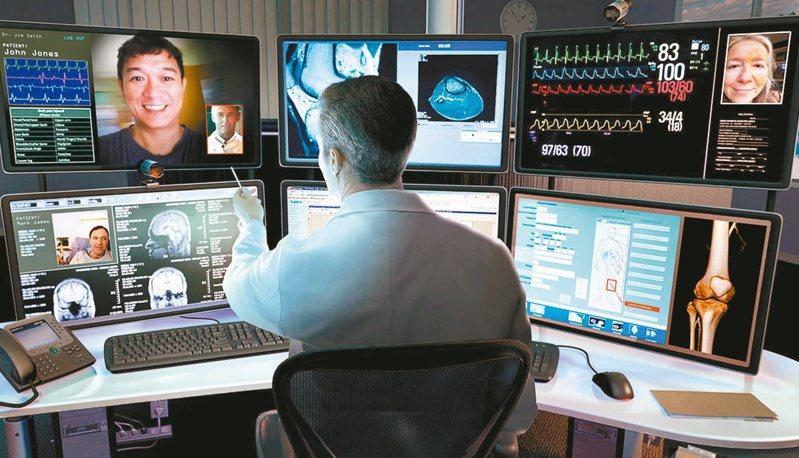 近年來資通訊相關感測、醫療用物聯網(IoMT),以及數據收集人工智慧(AI)等蓬勃發展,因而帶動智慧醫療相關技術爭相嶄露頭角。(網路照片)