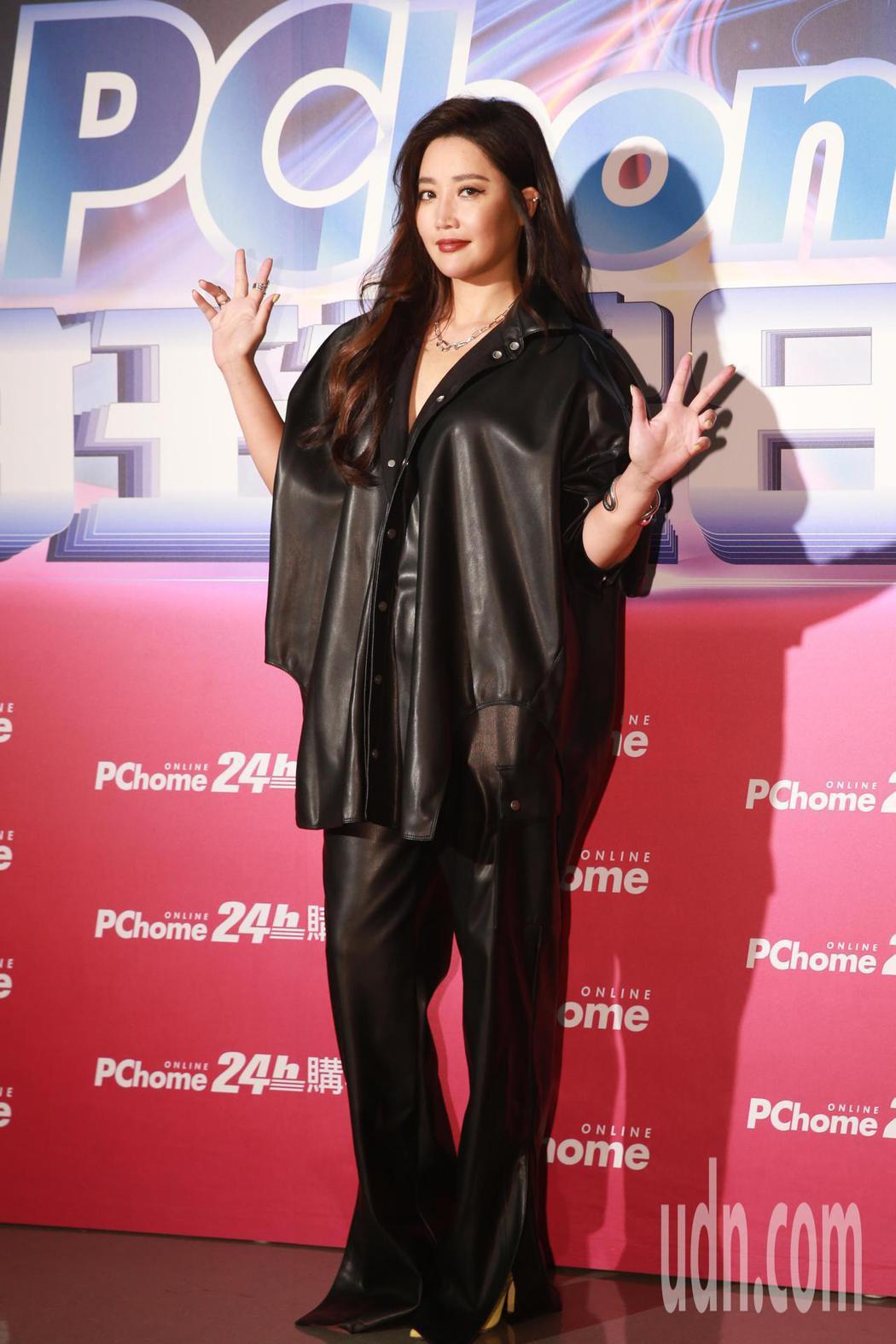 電商平台PChome在小巨蛋舉辦年度演唱會,邀請A-Lin與電商會員同歡。記者許...