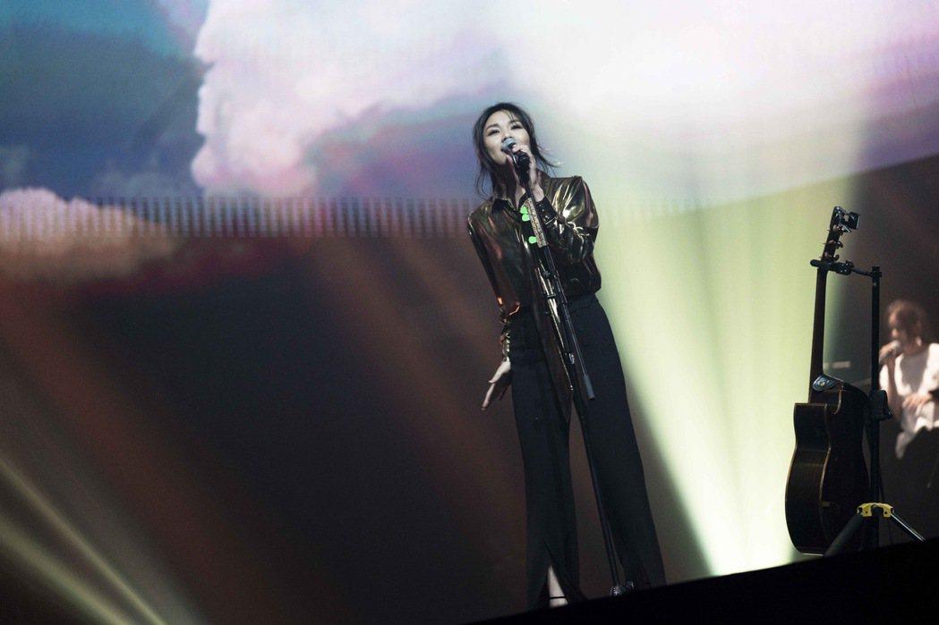 蔡健雅今晚舉辦出道以來首場線上演唱會。圖/騰訊音樂娛樂提供