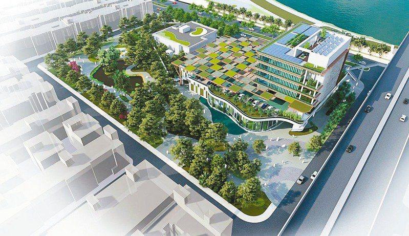 台北市擬新闢民生汙水廠,並首次建置「專用管線」延至社區,方便民眾取再生水。 圖/北市府衛工處提供
