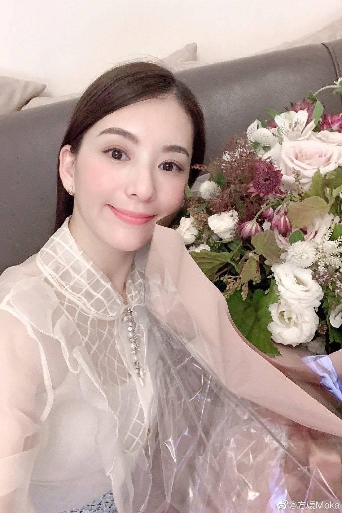 郭富城的老婆方媛慶祝33歲生日 © 方媛微博 圖/VOGUE提供