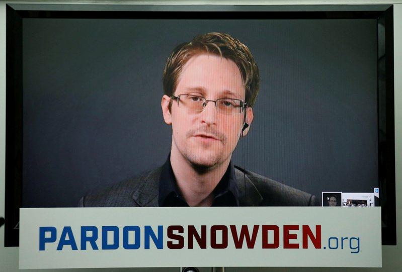 史諾登2013年披露政府監控公民情事後即流亡海外。 路透