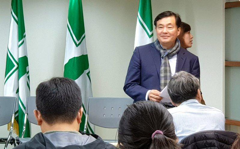 民進黨前秘書長洪耀福。本報資料照片