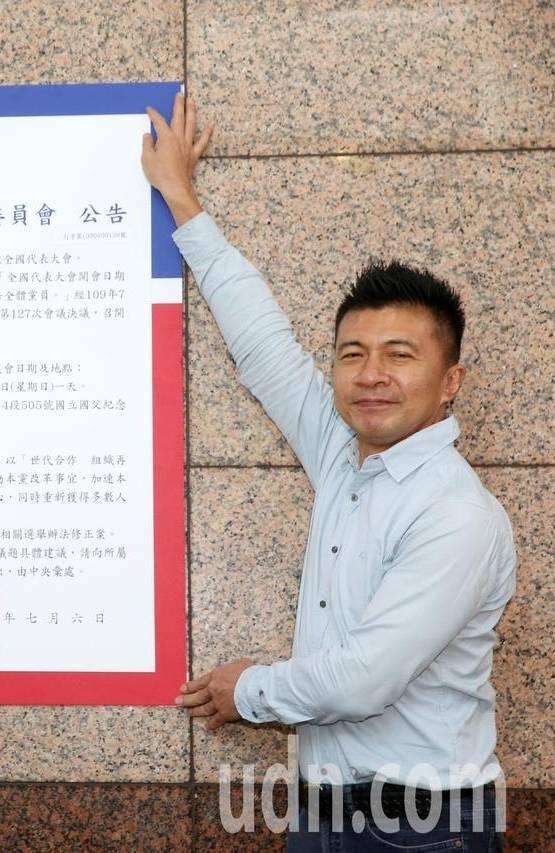 國民黨組發會主委葉壽山。本報資料照片