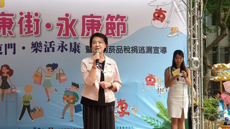 針對2022北市長選舉,台北市副市長黃珊珊表示,心中沒有選票才有選票。記者胡瑞玲/攝影