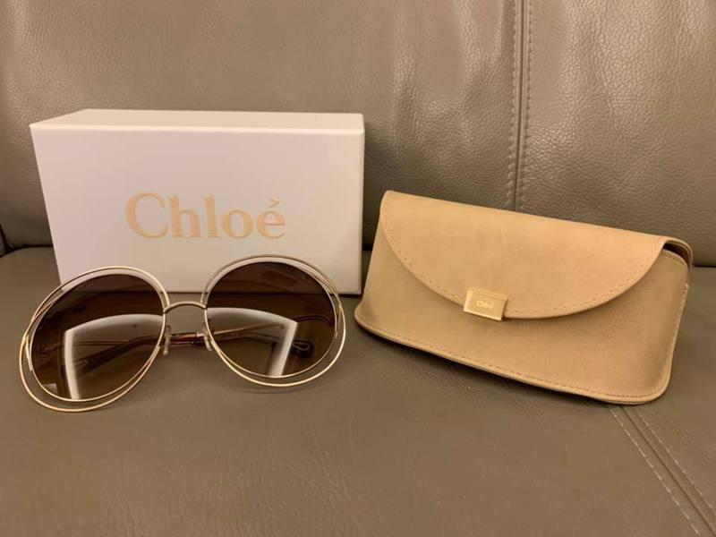 Chloe大圓款太陽眼鏡在好市多只要2,699元,消息一出引發網友暴動。圖/摘自COSTCO好市多消費經驗分享區