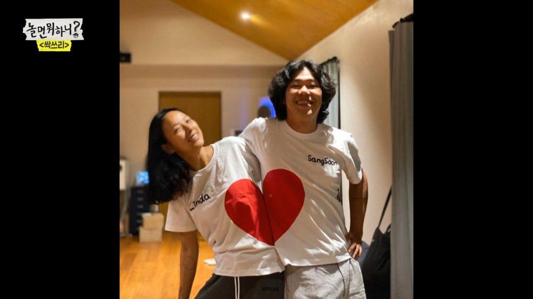 李孝利和老公婚後感情甜蜜。圖/friDay影音提供