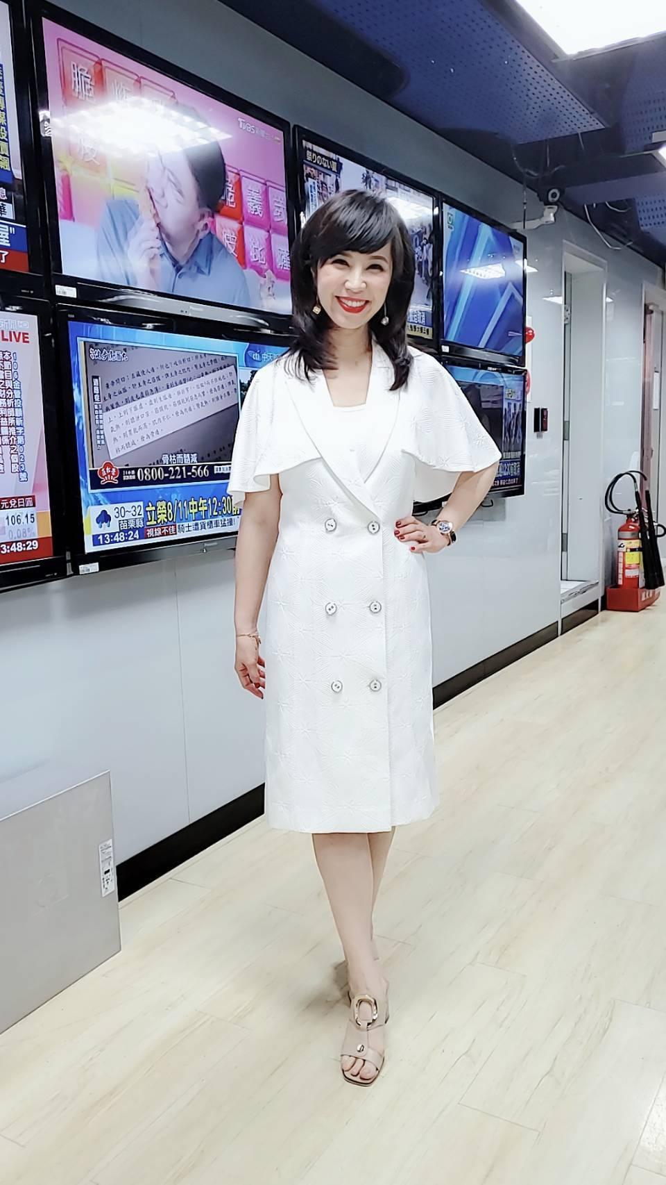 東森新聞「台灣1001個故事」主持人白心儀。圖/東森新聞提供
