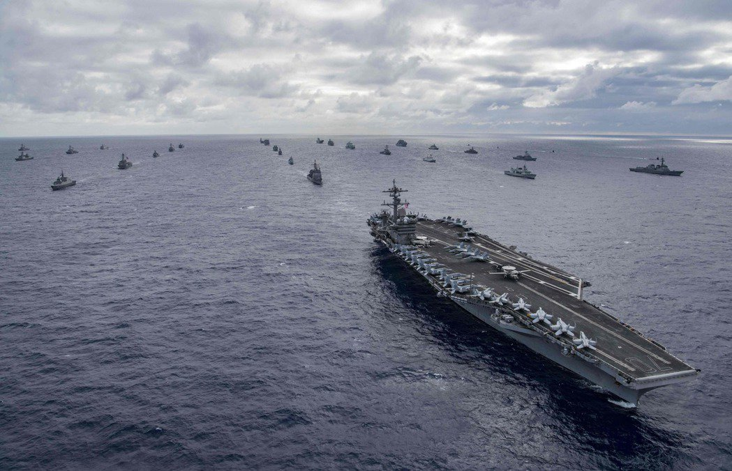 環太平洋軍演每兩年舉行一次,二○一八年七月上屆環太平洋軍演共廿五國參加,共四十六...