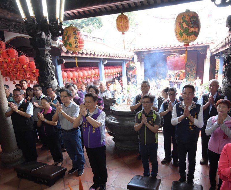 彰化縣芬園鄉「寶藏寺」,獲得低碳寺廟認證。圖/聯合報系資料照片