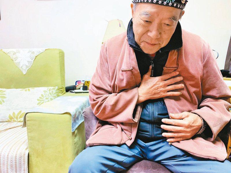 壓力大時,出現胸痛、胸悶等情形,小心可能罹患了「心碎症候群」。圖/聯合報系資料照片