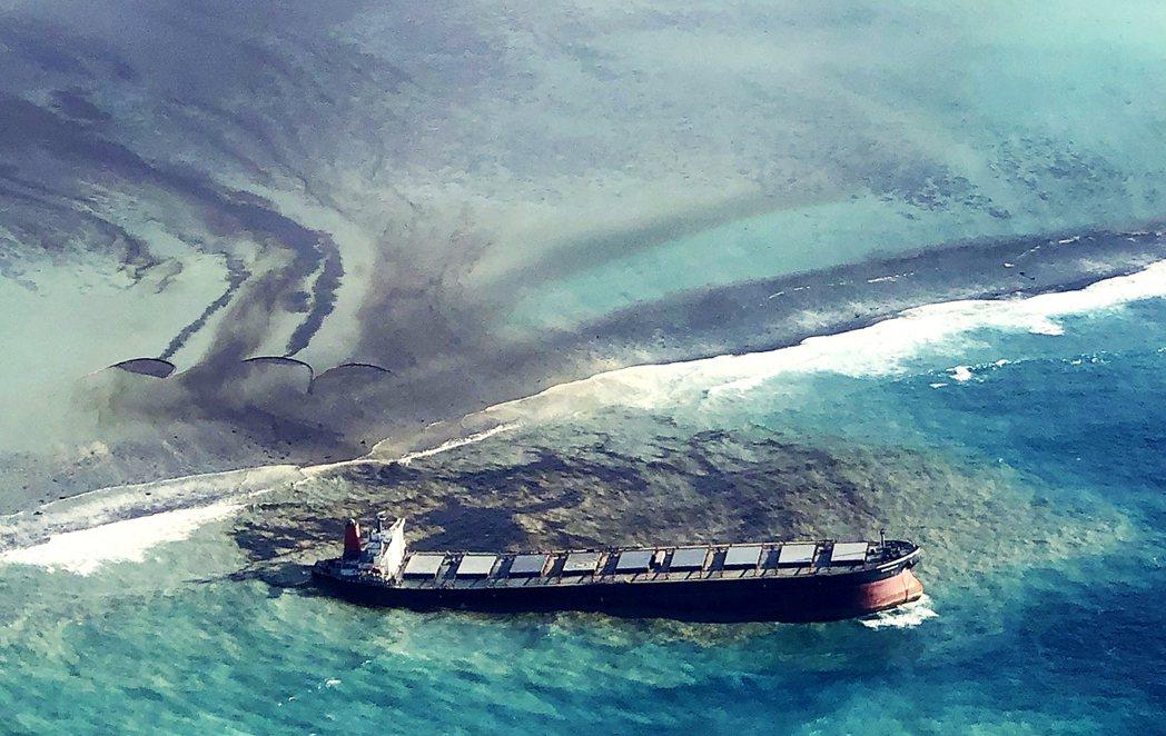 若潮號漏油事件,起始於7月25日發生在印度洋群島國家模里西斯(Mauritius...